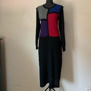 Vintage JustMort sweater dress